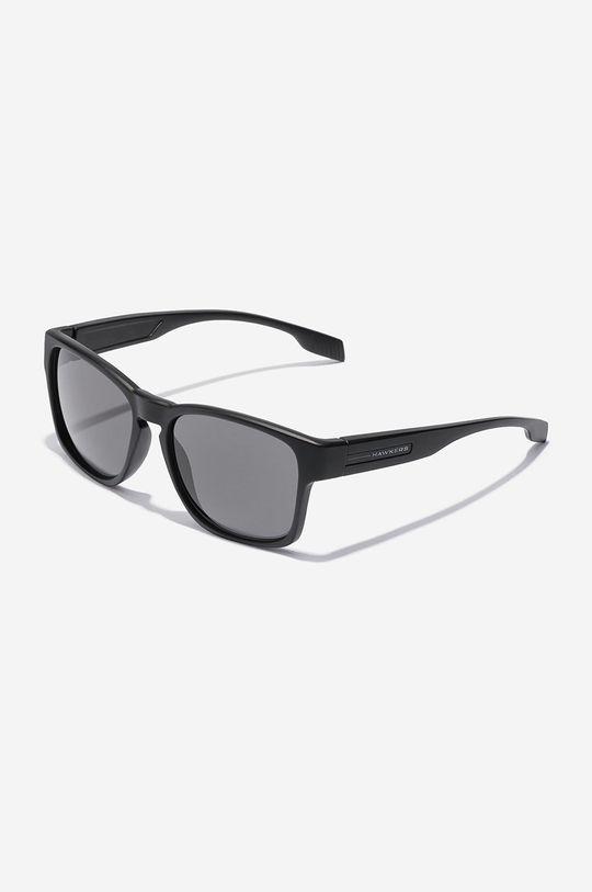 czarny Hawkers - Okulary przeciwsłoneczne CORE POLARIZED BLACK Unisex