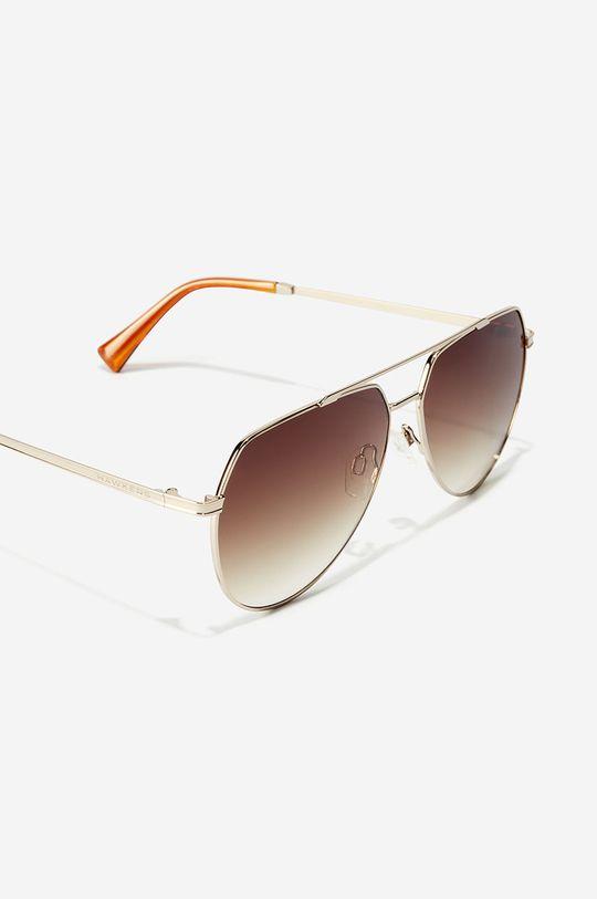 Hawkers - Okulary przeciwsłoneczne SHADOW - BROWN Materiał syntetyczny, Metal