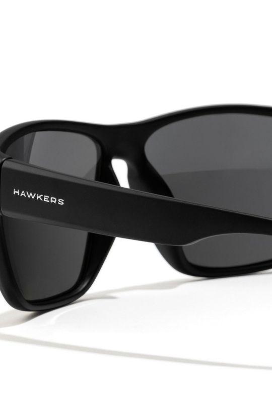 Hawkers - Okulary przeciwsłoneczne Black Dark Faster Materiał syntetyczny