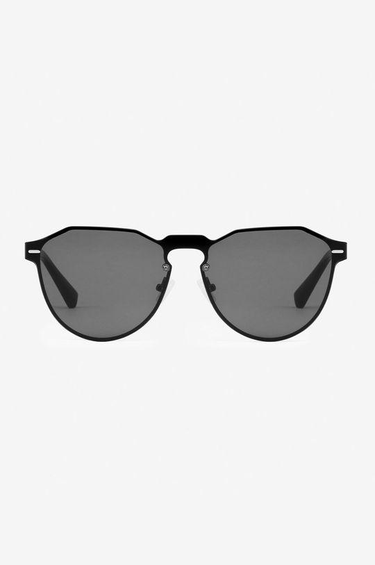 Hawkers - Okulary przeciwsłoneczne Gun Metal Dark Warwick czarny
