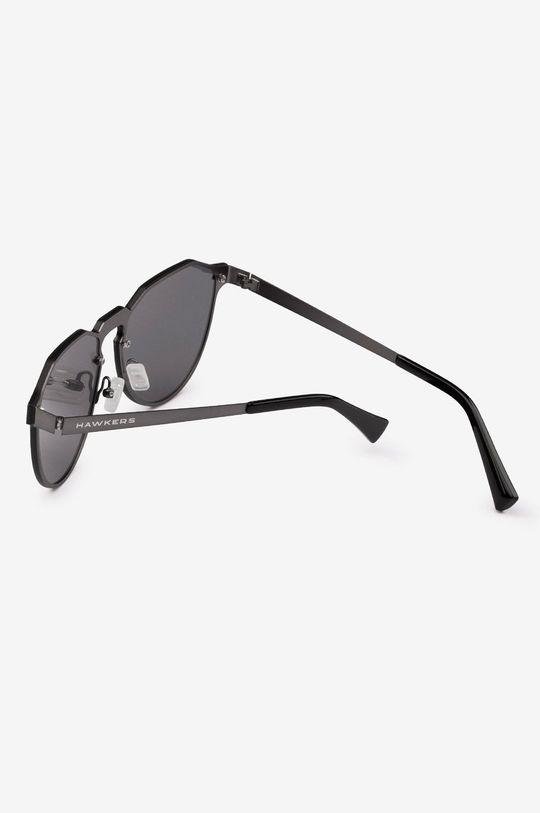 Hawkers - Okulary przeciwsłoneczne Gun Metal Dark Warwick Materiał syntetyczny, Metal