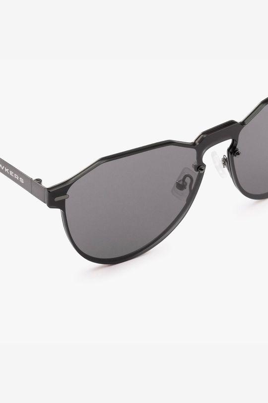 czarny Hawkers - Okulary przeciwsłoneczne Gun Metal Dark Warwick