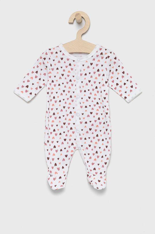 Name it - Dupačky pre bábätká (3-pak) ružovo-červená