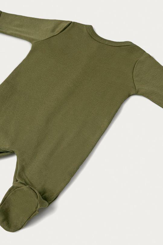 zielony Name it - Śpioszki niemowlęce 50-98 cm (2-pack)
