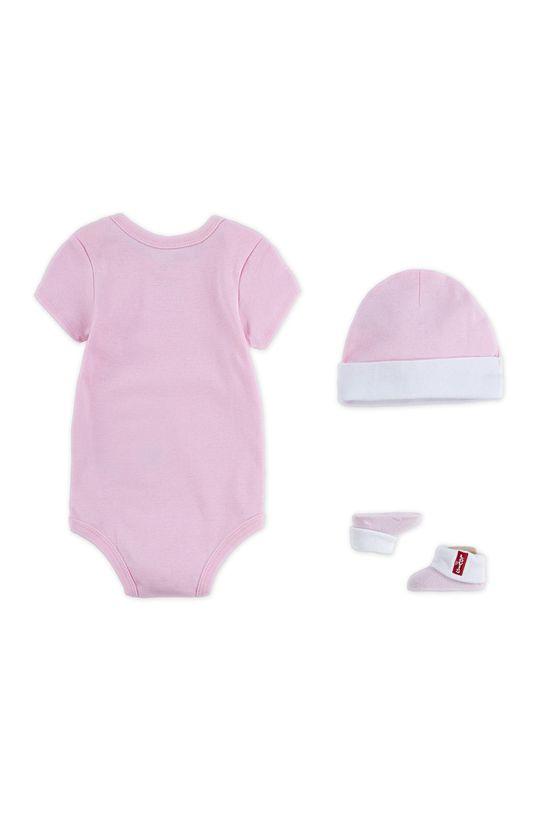 Levi's - Komplet niemowlęcy różowy
