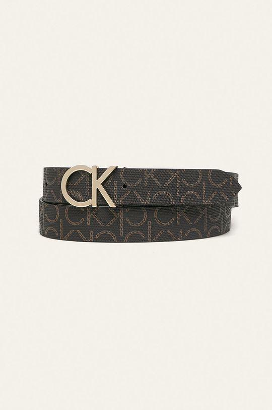 maro inchis Calvin Klein - Curea de piele De femei