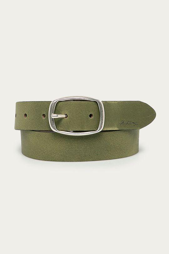 olivová Mustang - Kožený pásek Dámský