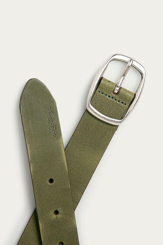 Mustang - Kožený pásek olivová