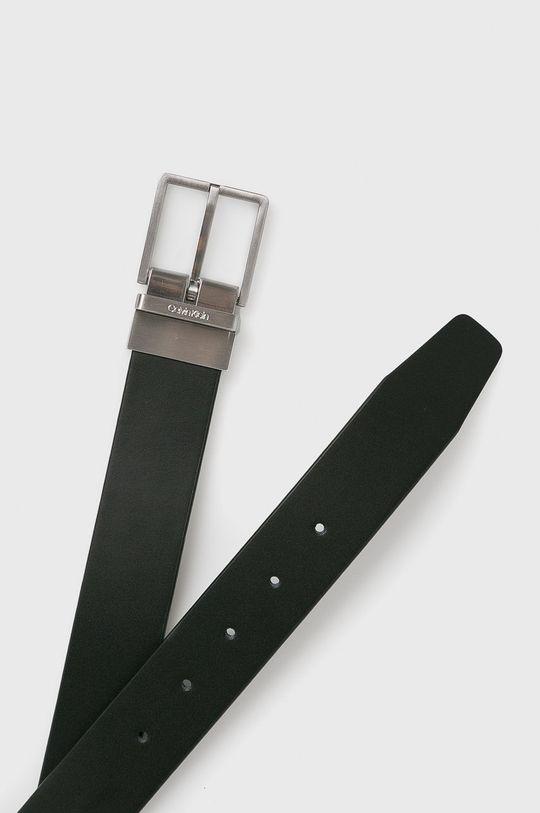 czarny Calvin Klein - Pasek skórzany