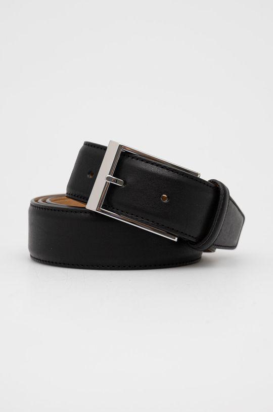 černá Tiger Of Sweden - Kožený pásek Pánský