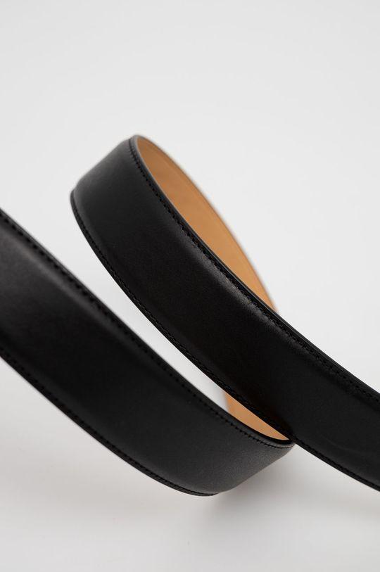 Tiger Of Sweden - Kožený pásek černá