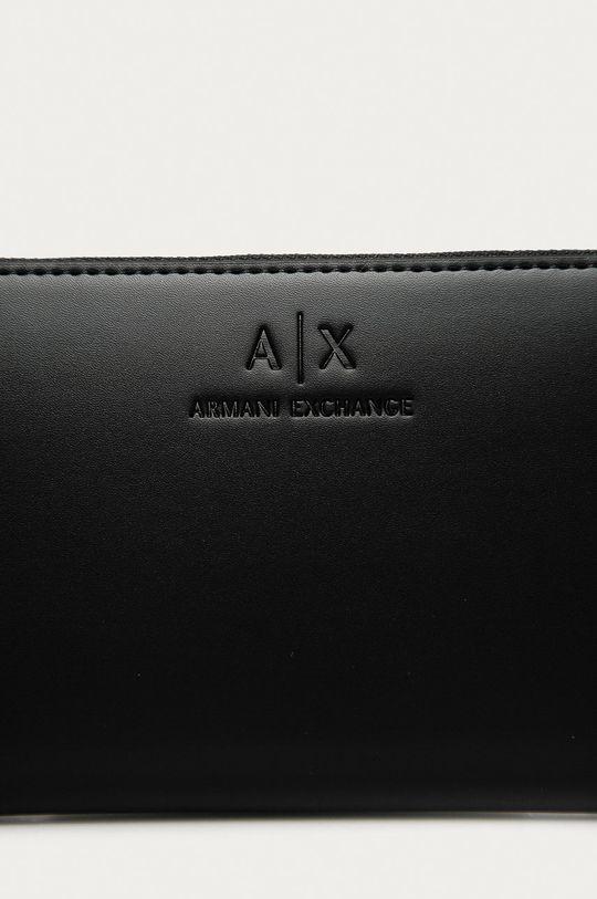 Armani Exchange - Peňaženka čierna