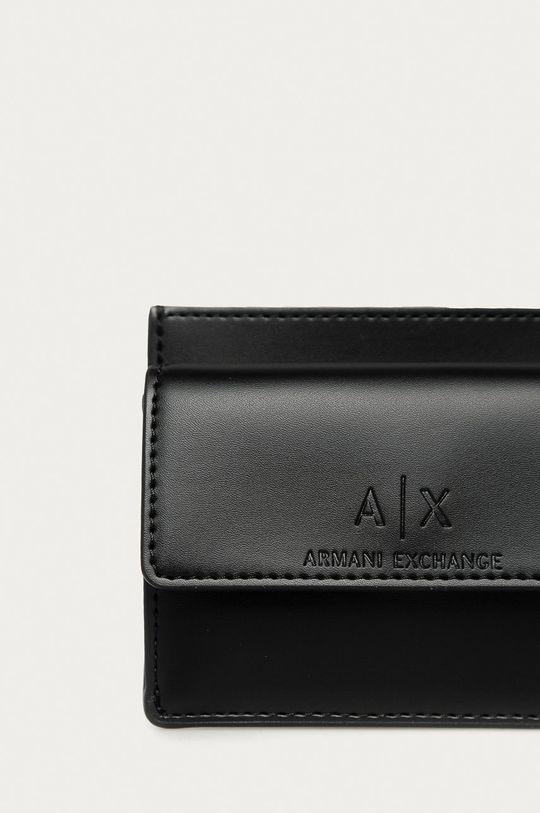 Armani Exchange - Portfel czarny