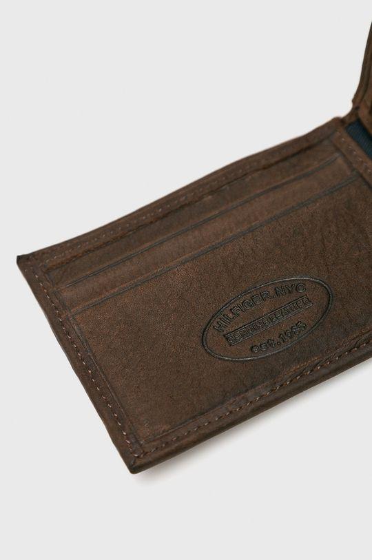 Tommy Hilfiger - Portfel skórzany Johnson Mini Materiał zasadniczy: 100 % Skóra naturalna,
