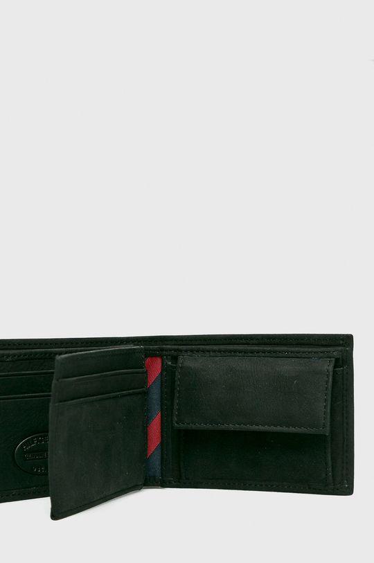 Tommy Hilfiger - Kožená peňaženka Johnson Mini čierna