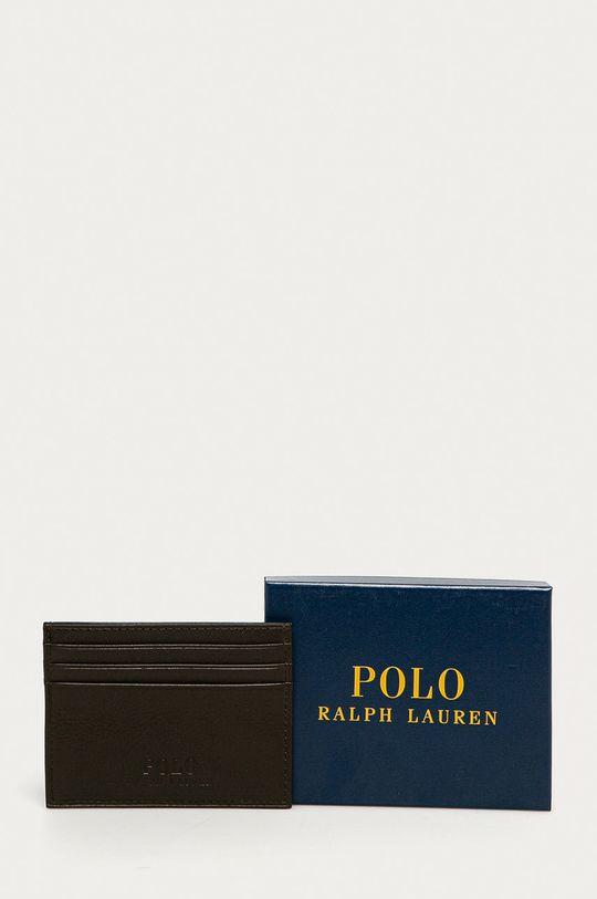 hnědá Polo Ralph Lauren - Kožená peněženka