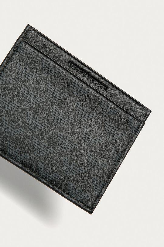 černá Emporio Armani - Kožená peněženka