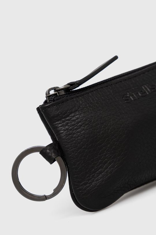 černá Strellson - Kožená peněženka