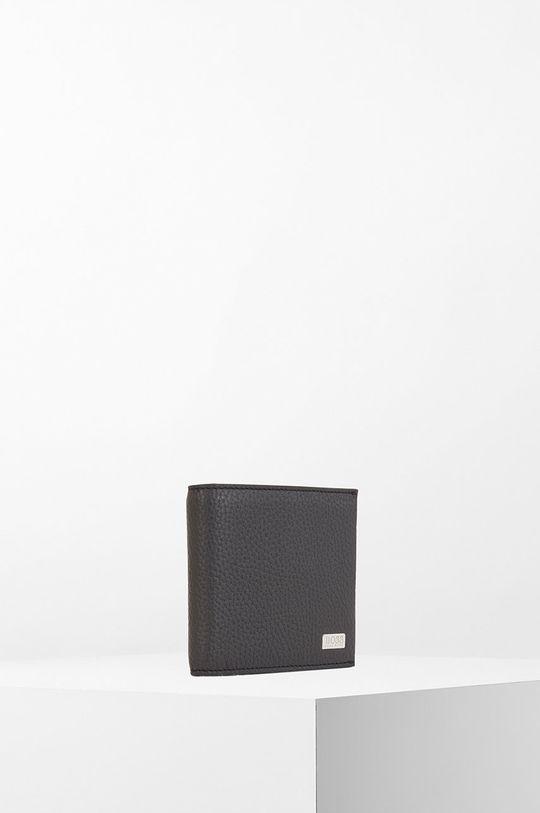 čierna Boss - Kožená peňaženka