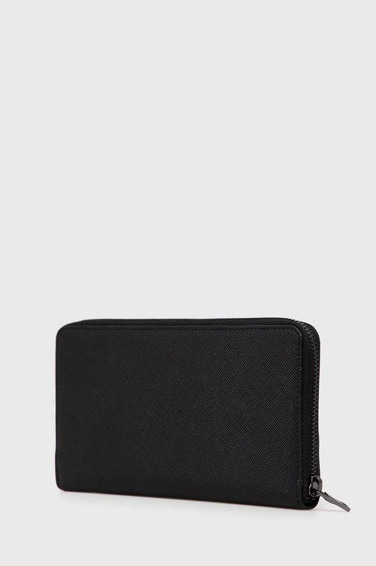 Armani Exchange - Portofel de piele negru