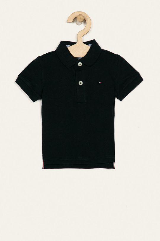 tmavomodrá Tommy Hilfiger - Detské polo tričko 74-176 cm Chlapčenský