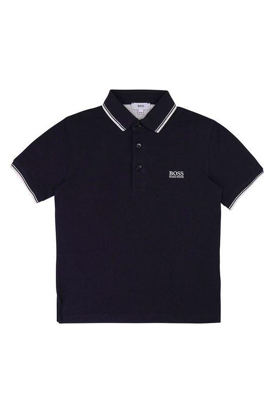 tmavomodrá Boss - Detské polo tričko 116-152 cm Chlapčenský
