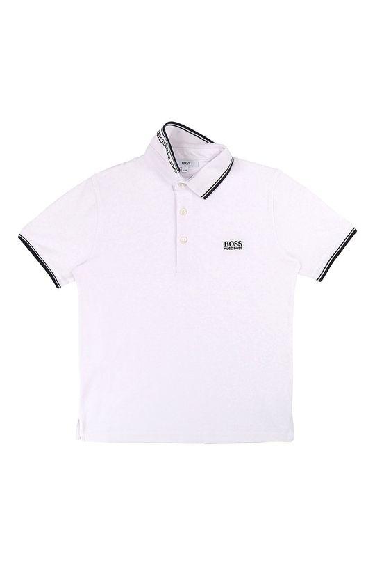 bílá Boss - Dětské polo tričko 164-176 cm Chlapecký
