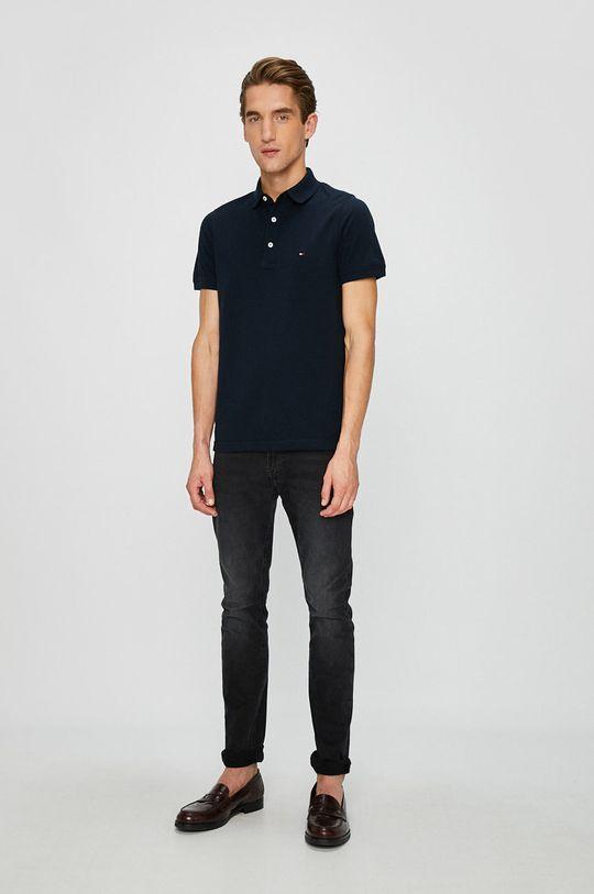 Tommy Hilfiger - Pánske polo tričko tmavomodrá