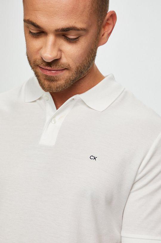 bílá Calvin Klein - Polo tričko