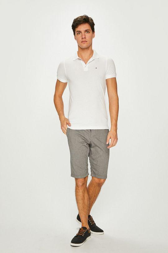 Tommy Jeans - Polo tričko bílá