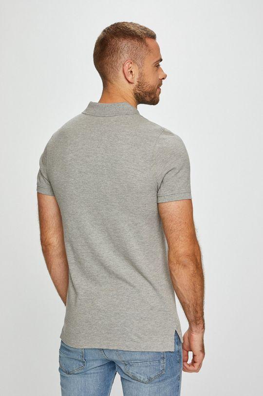 světle šedá Tommy Jeans - Polo tričko