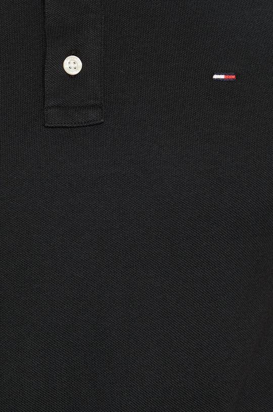 Tommy Jeans - Polo tričko černá