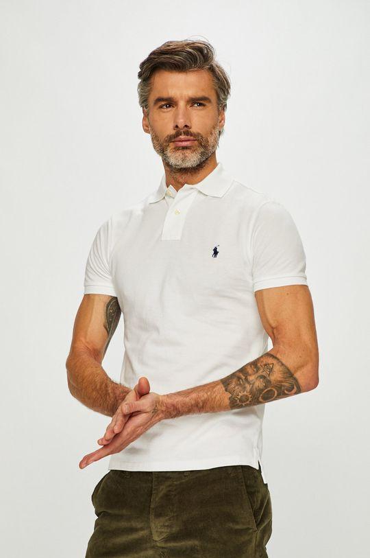 alb Polo Ralph Lauren - Tricou Polo De bărbați