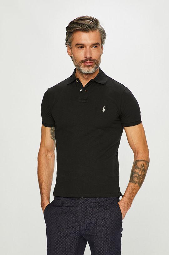 černá Polo Ralph Lauren - Polo tričko Pánský