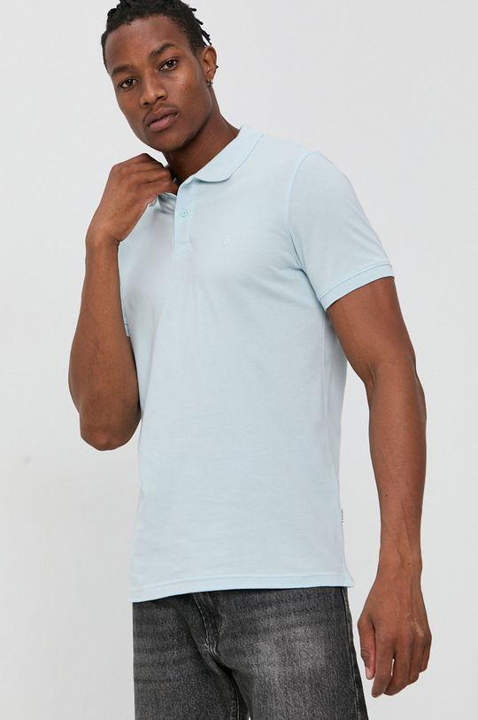 jasny niebieski Jack & Jones - T-shirt/polo 12136516 Męski