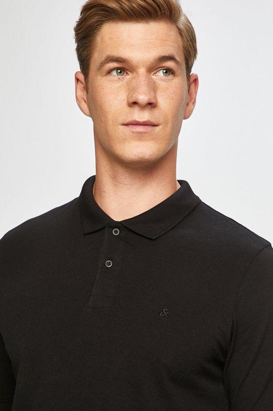 čierna Jack & Jones - Pánske polo tričko