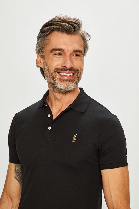 czarny Polo Ralph Lauren - T-shirt/polo 710685514002