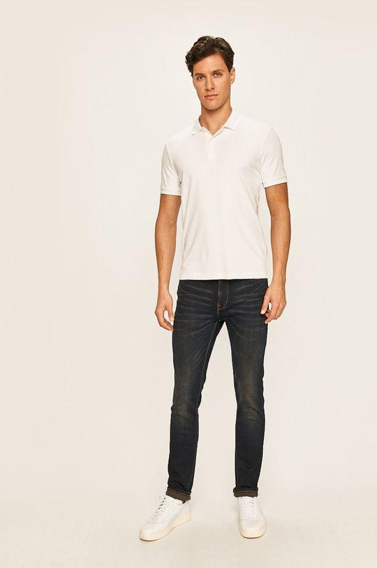 Selected - Polo tričko bílá