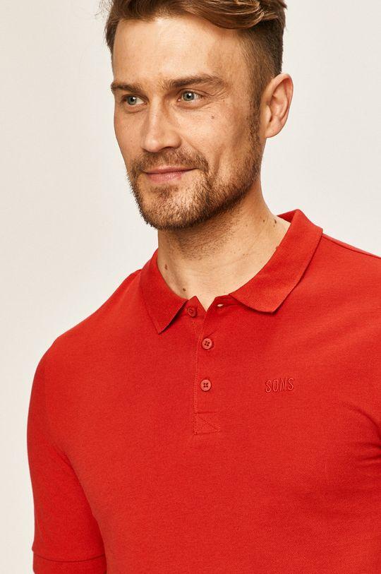 červená Only & Sons - Polo tričko