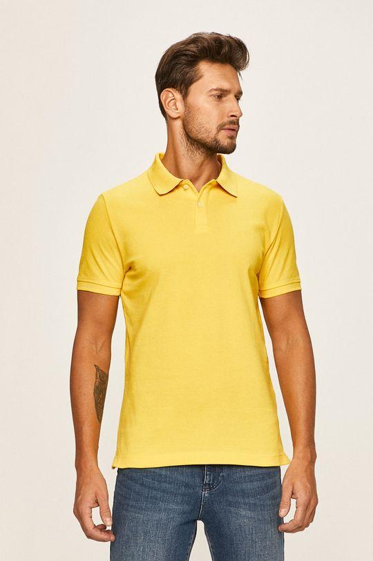 galben s. Oliver - Tricou Polo De bărbați