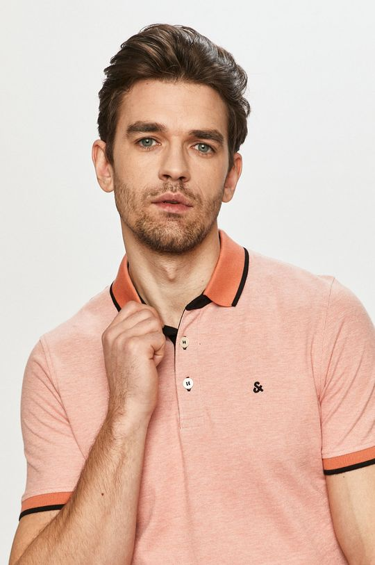 broskvová Jack & Jones - Polo tričko