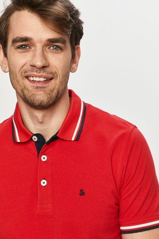 czerwony Jack & Jones - Polo