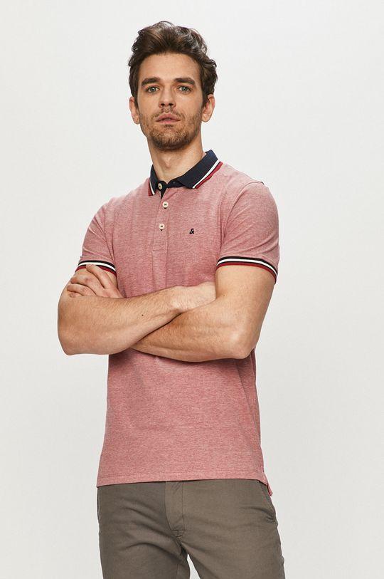 červená Jack & Jones - Polo tričko Pánsky
