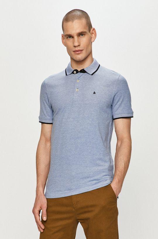 modrá Jack & Jones - Polo tričko Pánský