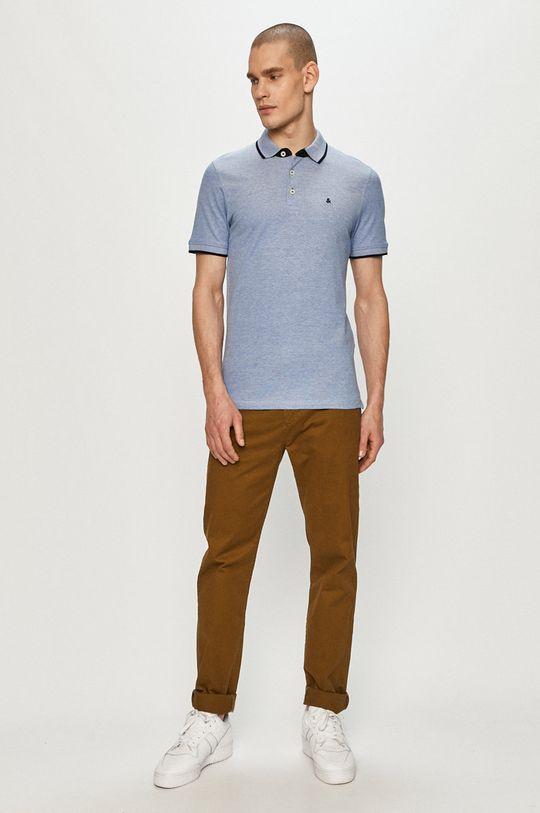 Jack & Jones - Polo tričko modrá
