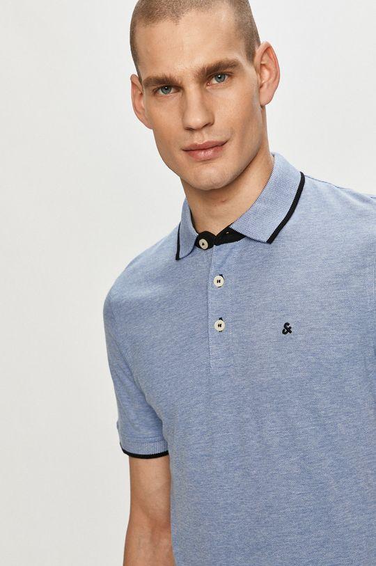 modrá Jack & Jones - Polo tričko