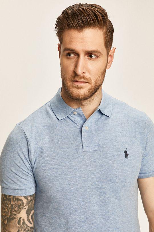 albastru deschis Polo Ralph Lauren - Tricou Polo De bărbați