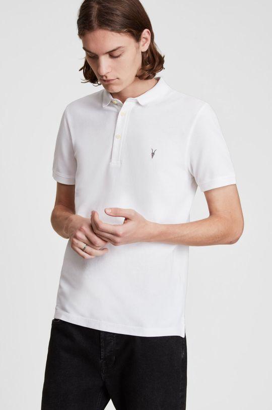 biały AllSaints - Polo Reform Polo Męski