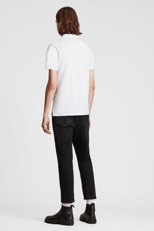 biały AllSaints - Polo Reform Polo