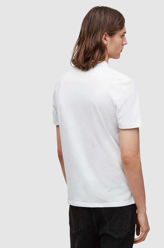 biały AllSaints - Polo Brace SS Polo